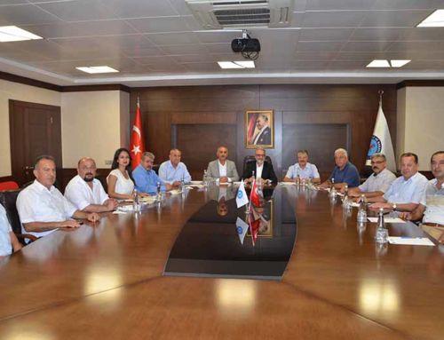 Arsuz Belediye Başkanı Nazım Culha İTSO'yu Ziyaret etti