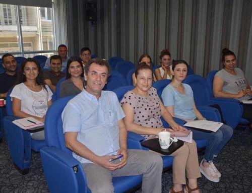 İTSO Personeline 'Risk yönetimi' konulu eğitim verildi.